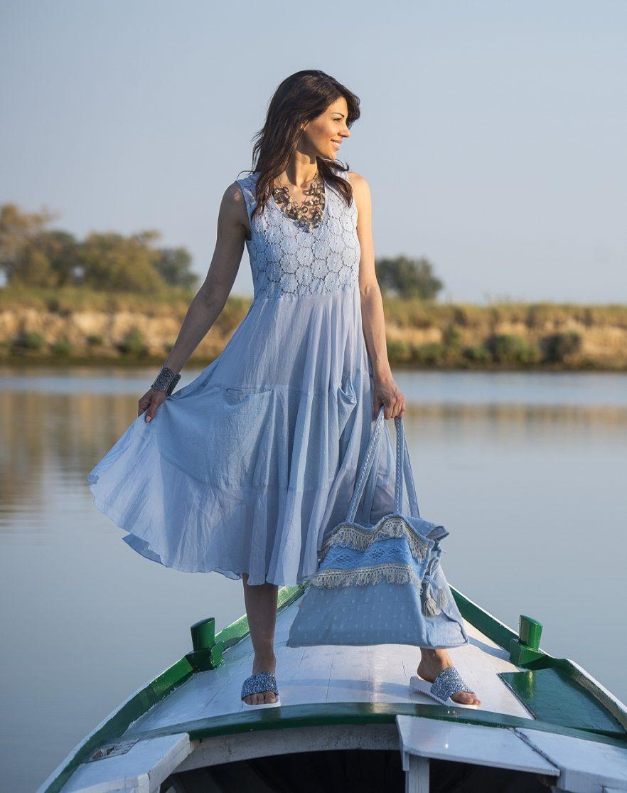 online store 03a65 b18d8 Abito, borsa e ciabatte Capri - Moda Mare Donna RobyZu